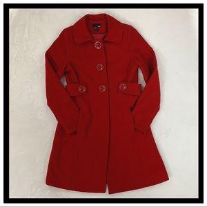 H&M Long Coat Size 8